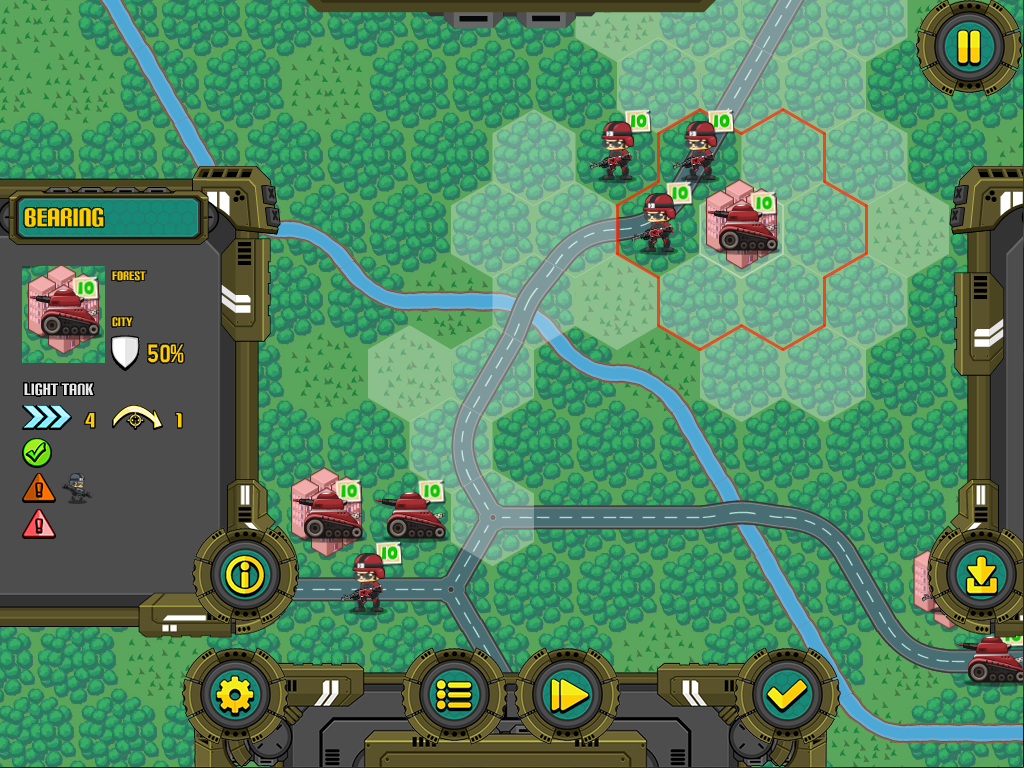Tacticaler, a turn based strategy game - Showcase - OpenFL Community