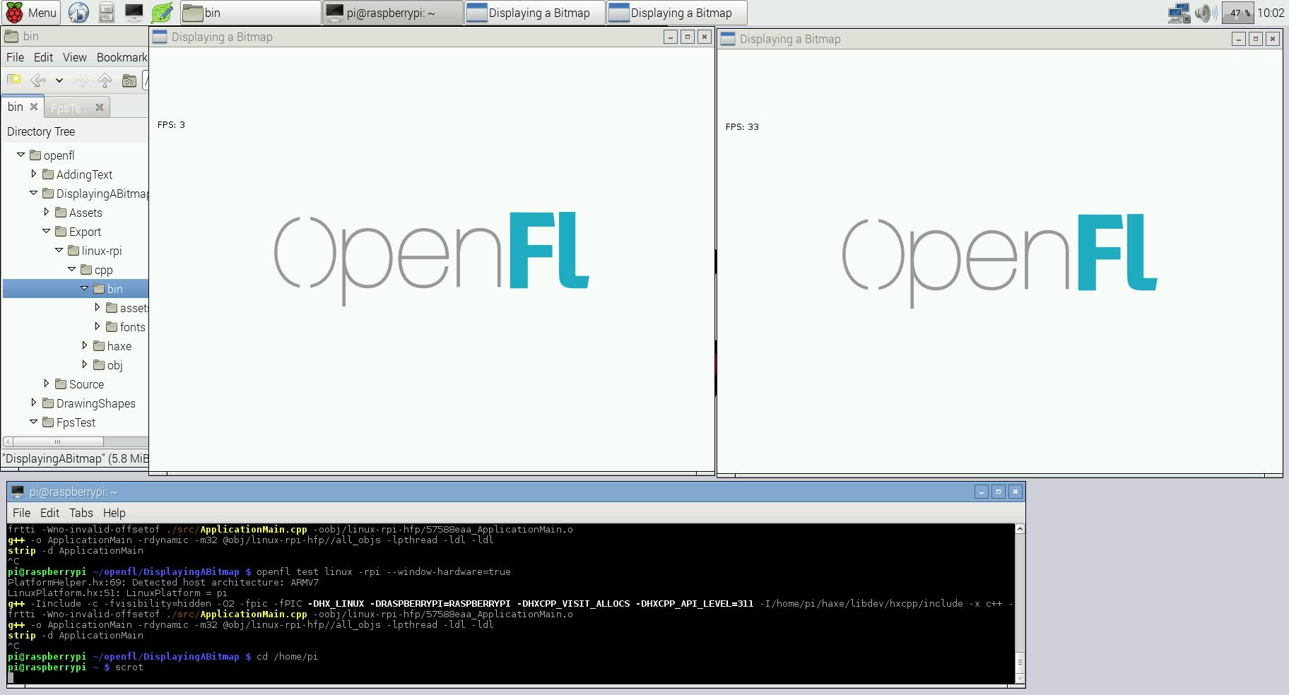 Raspberry Pi 2 anyone? - Help - OpenFL Community